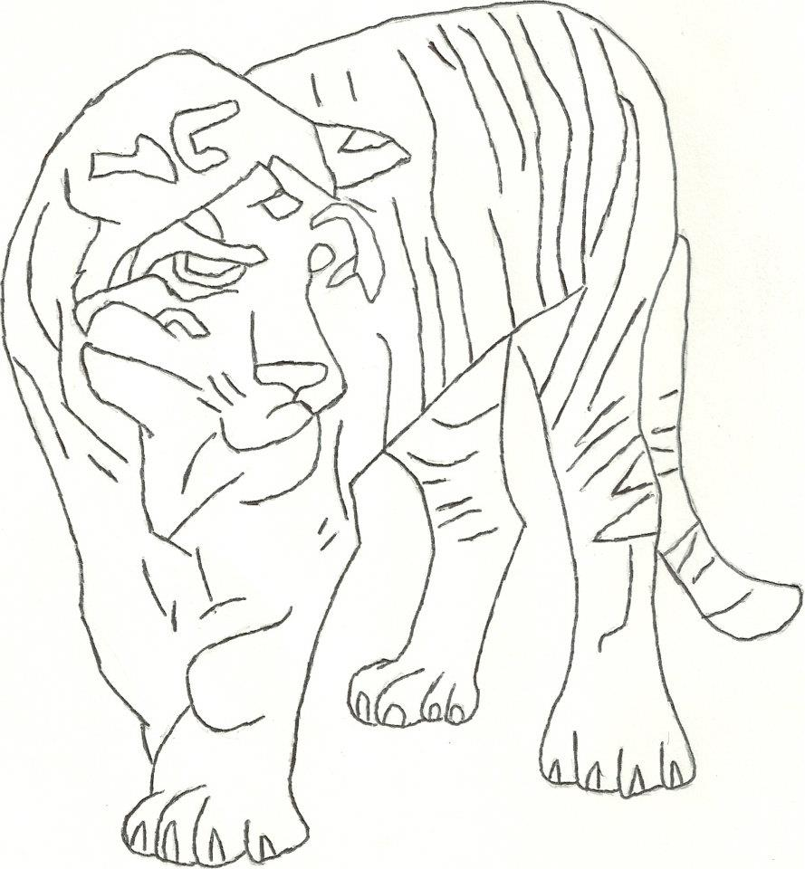 animals pencil drawing animal patterns pattern ever coloring
